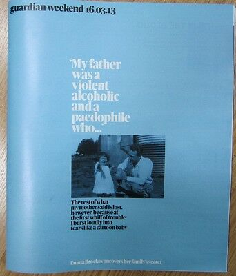 Emma Brockes - Guardian Weekend Magazine – 16 March 2013