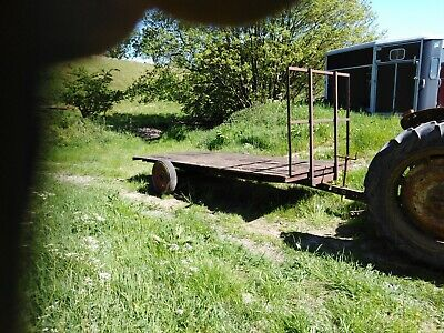 small bale hay trailer