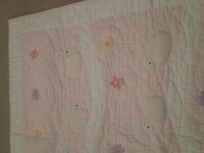 Baby Girl Quilted Bedspread