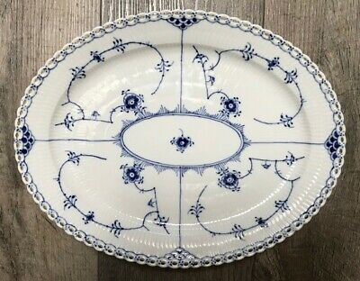 Royal Copenhagen Full Lace Oval Serving Platter - 1st Quality 1148