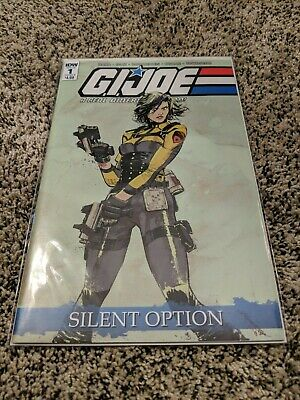 GI Joe a Real American Hero Silent Option #1 (of 4) (Cover B - Lo) NM