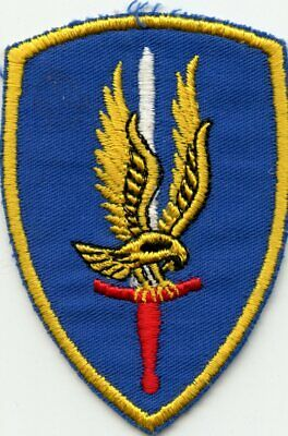 VN Era Theatre Made 1st Aviation Brigade Reverse Direction Combat Wear Patch