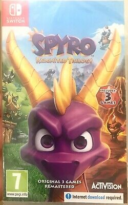 Spyro Reignited Trilogy for Nintendo Switch (NEW)