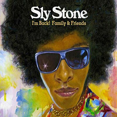 ID4z - Sly Stone - I'm Back! Family  F - CD - New