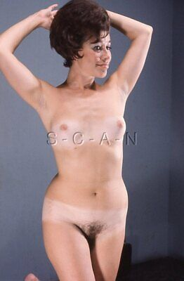 Org Vintage Amateur Nude 1950s-60s 35mm Slide / Negative- Endowed- Suntan- #6