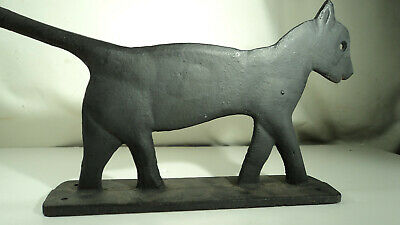 Cool Unusual Cast Iron Cat Shoe Boot Scrap Well Made
