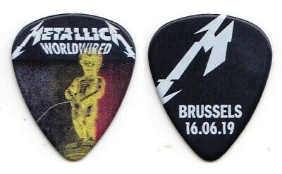 Metallica - Brussels 16/06/19 Worldwired Tour 100% Authentic Tour Guitar Pick