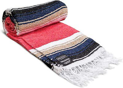 Mexican Falsa Blanket Yoga Mat Blanket  79in x 51in