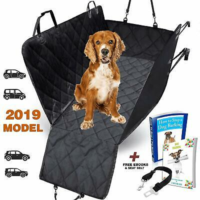 AMZPET Dog Car Seat Cover for Dogs, Waterproof with Door Protection, Durable