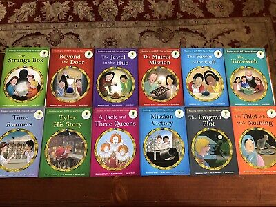 Biff, Chip & Kipper Time Chronicles Oxford Reading Tree (stages 10&11) 12 books