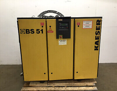 Kaeser BS51 40HP Rotary Screw Air Compressor