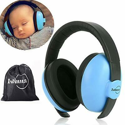 Baby Ear Protection Noise Cancelling Headphones for Newborn Autism (New-Blue)