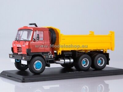 Tatra 815S3 three way dump truck /red-yellow/