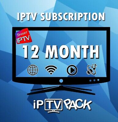 Premium IP TV Subscribe 1 Year Al device +15k channel & Vod