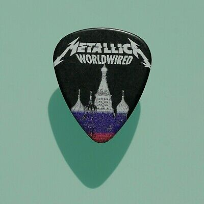 Metallica - Moscow 21/07/19 Worldwired Tour 100% Authentic Guitar pick