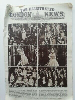 London Illustrated News 12/11/1960 featuring Lewes Floods