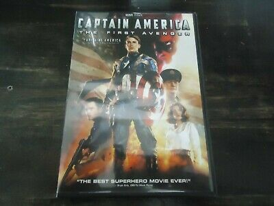 Captain America-The First Avenger-Marvel Comics Movie-Best Superhero Ever-Dvd