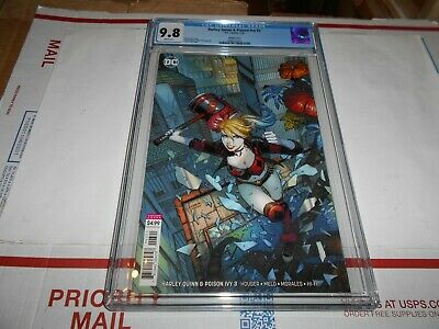 Harley Quinn & Poison Ivy #3 Cgc 9.8 (Finch Variant Cover)(Combined Shipping Ok)