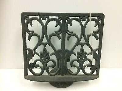 Vintage Cast Iron Book Stand