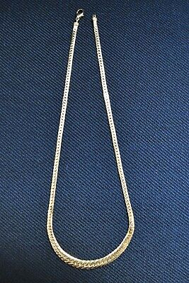 Collier OR jaune 18 CARATS  maille anglaise de 8,90 gr