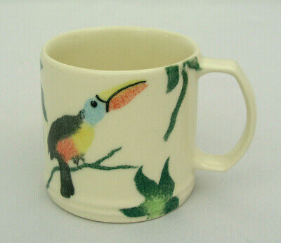 "Jane And Stephen Baughan - 2 3/4"" Child's Mug W/ Toucan - Hand Painted - England"