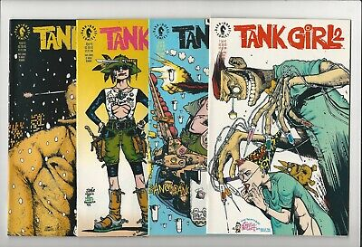Tank Girl 2 2nd Series 1 2 3 4 1-4 Dark Horse Complete Set Jamie Hewlett Movie