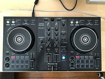 Pioneer  DDJ-400 2 Channel Rekordbox DJ Controller - Black Mint Condition
