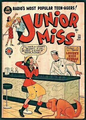 Junior Miss #38 Golden Age Atlas 5.0