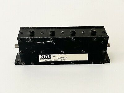 K&L Bandpass filter 4C30-160/1-0/0
