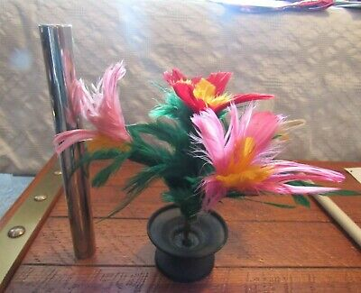 Vintage Candle To Flowers - Close Up - Stage Magic - HARD TO FIND
