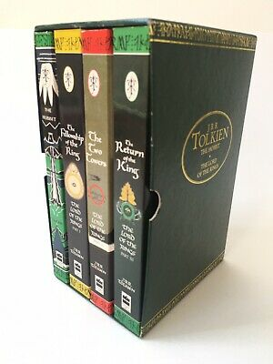 The Lord of the Rings/The Hobbit Book Box Set J R R Tolkien As New