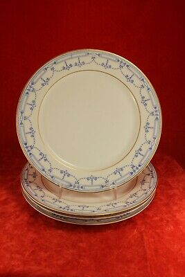 "Community China GROSVENOR Set FOUR 8¾"" Luncheon Plates - Bavaria Germany"