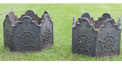 vintage cast iron Old Hall Garden Planters Old Hall Hexagnal Old And Very Heavy