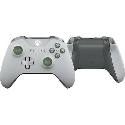 Official Microsoft Xbox One, S, X Wireless Controller Grey/ Green - Brand New