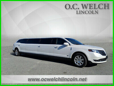 2018 Lincoln MKT Limo/Hearse 2018 Limo/Hearse New Turbo 3.5L V6 24V Automatic AWD SUV