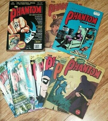 10 x Frew PHANTOM Comics and books - includes 1996 Collector's Special