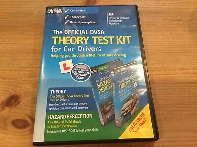 DVSA Theory Test Kit for Car Drivers  AND 2  MAGNETIC  L  PLATES