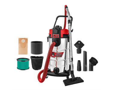 Full Boar 40L 1200W L-Class Wet And Dry Vacuum With PTO