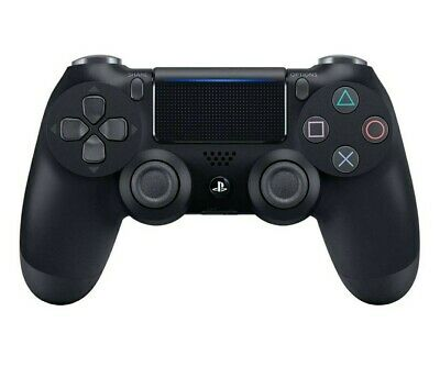 Official Sony PS4 Dualshock 4 wireless Controller (Black)(PS4) V2 Boxed New