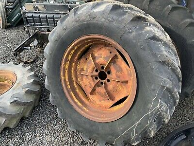 Fordson Major 6 Stud 16.9 30 Wheel And Goodyear Tyre