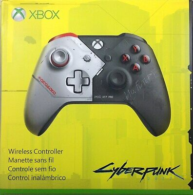 Xbox Wireless Controller – Cyberpunk 2077 Limited Edition (Damaged Box)