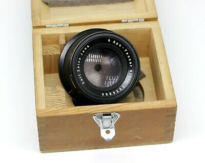 Carl Zeiss Jena APO Tessar 9/375 Large Format Camera Lens in box 40x50 TO19