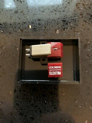 Goldring Elektra Cartridge Fitted With A New Stylus