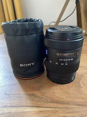 CARL ZEISS VARIO-SONNAR 16-80mm F 3.5-4.5 ZA VS T* SONY A MOUNT LENS