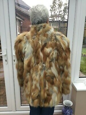 Red Fox short coat/jacket