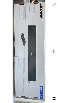 Bose Solo 5 TV Sound Bar System Wired Black Single Speaker w/ Remote Control New