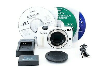 Canon EOS M2 18.0 MP Digital Camera White Body w/Charger [Exc+++] from Japan #62