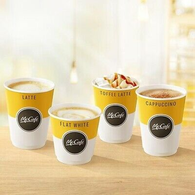 600 Mcdonalds Coffee / Hot Drinks Loyalty Stickers X 600 100 Cups Exp 31-12-2020