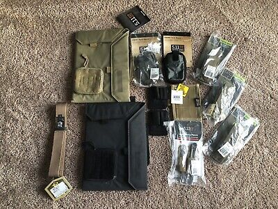 Tactical Items Lot Hsg, High Speed gear, 5.11, Maxpedition, New NWT Mag Pouch