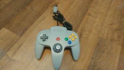 Nintendo 64 N64 Gray Controller Authentic Genuine OEM Tested Works